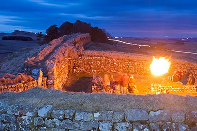Milecastle 37 Illuminated